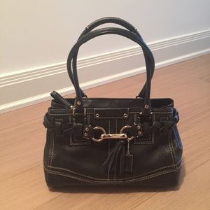 Coach leather handbag - NWOT